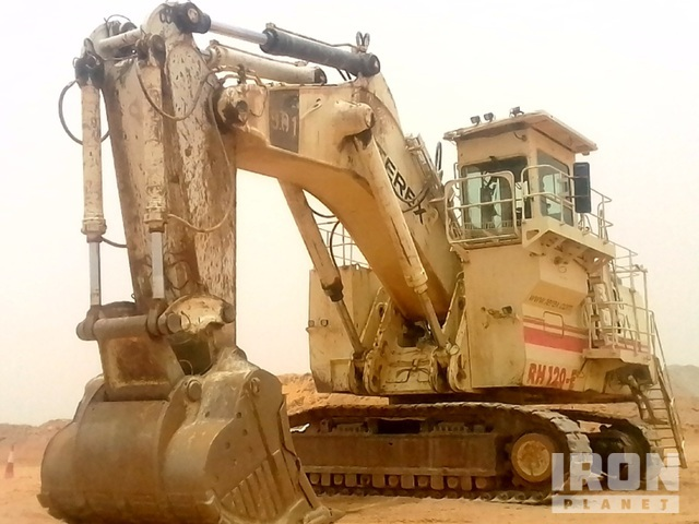 Terex RH120E Track Excavator, Hydraulic Excavator