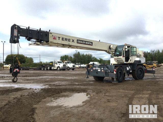 2014 Terex RT230-2XL Rough Terrain Crane, Rough Terrain Crane