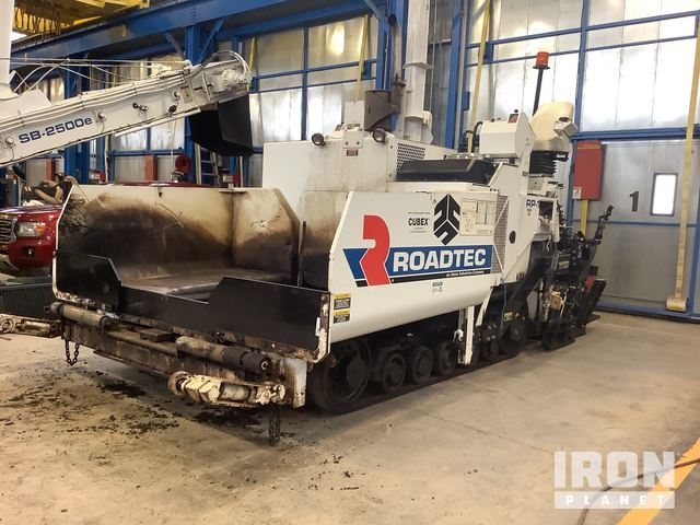 2015 Roadtec RP175 Asphalt Paver, Asphalt Paver