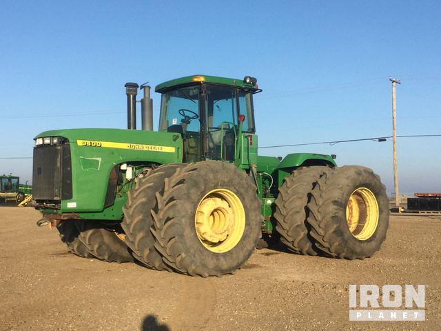 1997 John Deere 9400 Articulated Tractor, 4WD Tractor