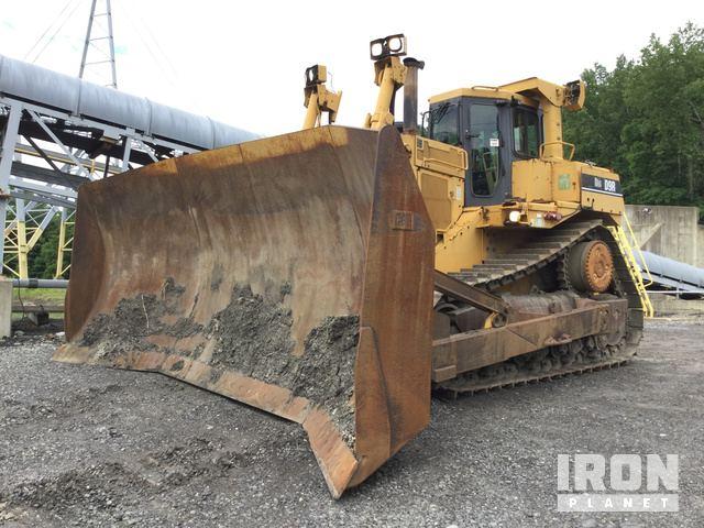 Caterpillar D9R Crawler Tractor Specs & Dimensions