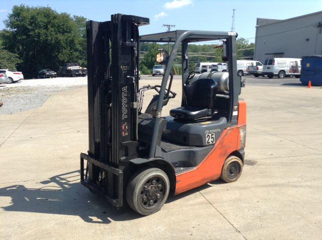 2015 Toyota 8FGCU25 Cushion Tire Forklift, Forklift