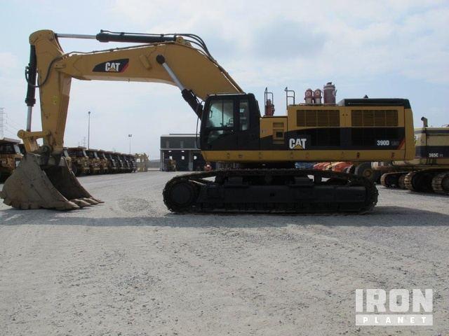 2012 Cat 390DL Track Excavator, Hydraulic Excavator