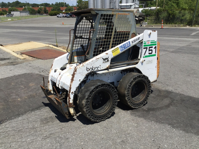 Bobcat 751 Skid-Steer Loader