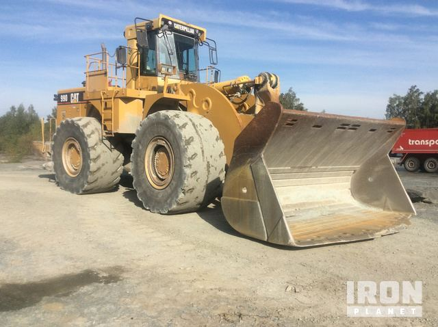 2001 Cat 990 Series II Wheel Loader, Wheel Loader