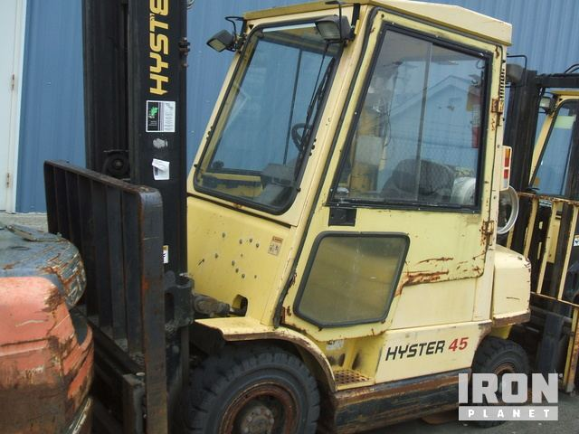 Hyster H155FT LP Forklift Specs & Dimensions :: RitchieSpecs