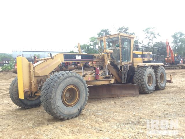 2002 Cat 16H Motor Grader, Maintainer