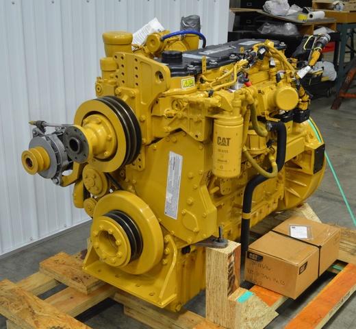 Cat C7 Acert Engine - Unused