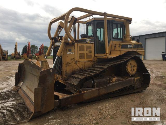 Cat D6R XL Crawler Dozer, Crawler Tractor