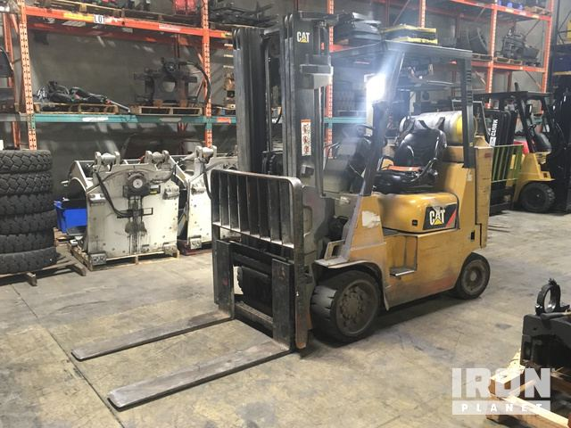 2013 Cat GC40KSTR Pneumatic Tire Forklift, Forklift