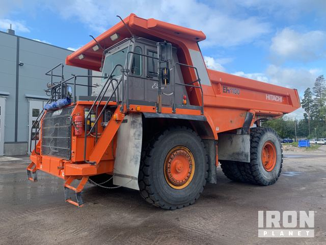 2015 Hitachi EH1100-5 Off-Road End Dump Truck, Rock Truck