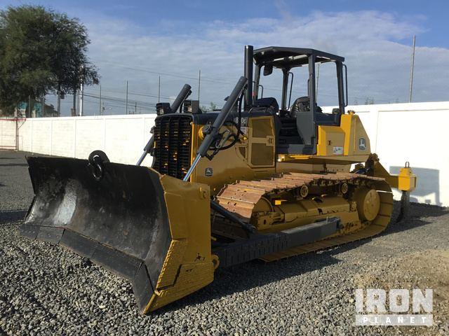 John Deere 850C Crawler Dozer, Crawler Tractor