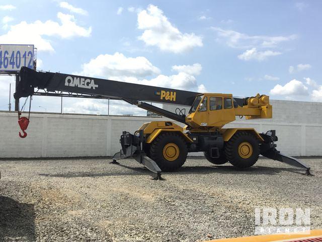 1979 P & H Omega 40 Rough Terrain Crane, Rough Terrain Crane