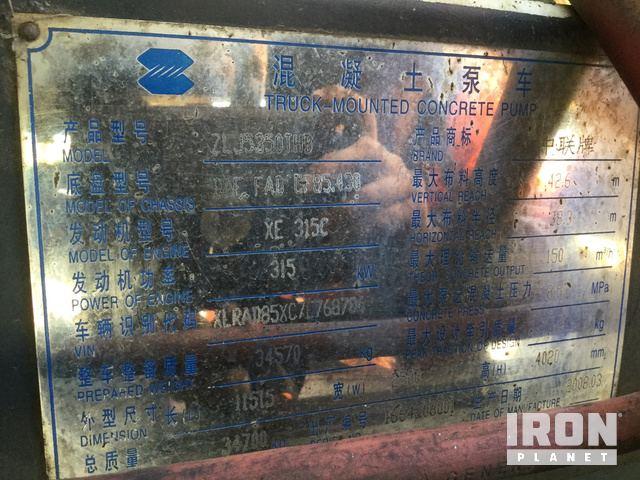Pump Body Serial Number: