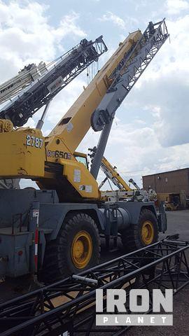 2000 Grove 650E Rough Terrain Crane, Rough Terrain Crane