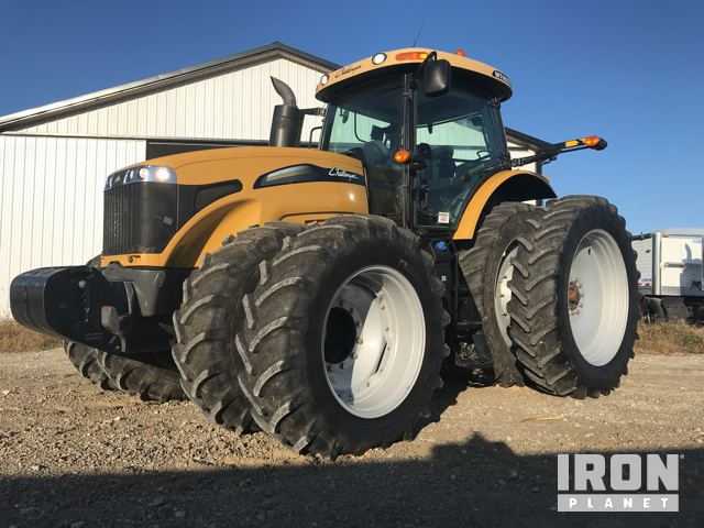 2012 Challenger MT665D 4WD Tractor, MFWD Tractor