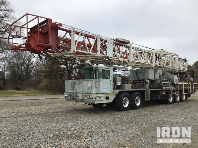 2008 Eagle 96' x 225K Well Service Rig, Well Service Unit