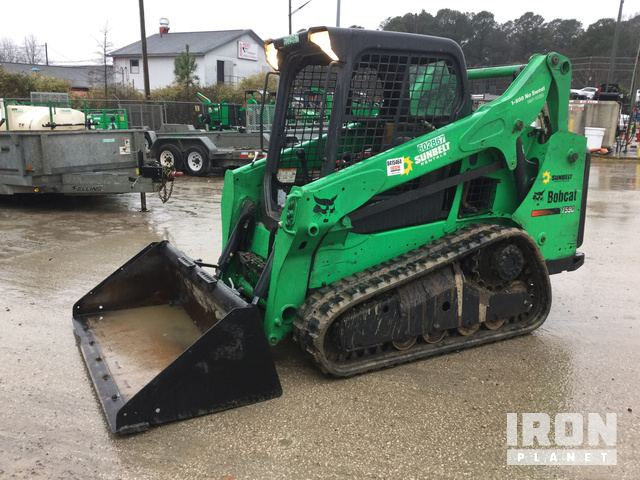 2014 (unverified) Bobcat T590 Compact Track Loader, Compact Track Loader
