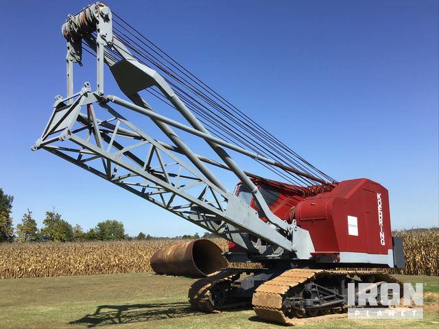 Koehring 545 Lattice-Boom Crawler Crane, Crawler Crane