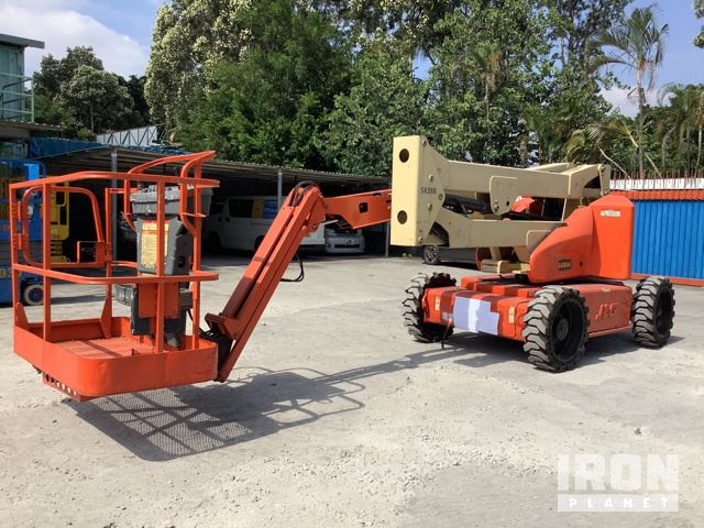 2007 (unverified) JLG E450AJ Electric Articulated Boom Lift, Boom Lift