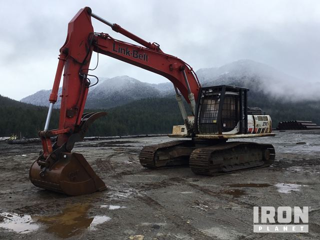 Link-Belt 290LX Track Excavator, Hydraulic Excavator