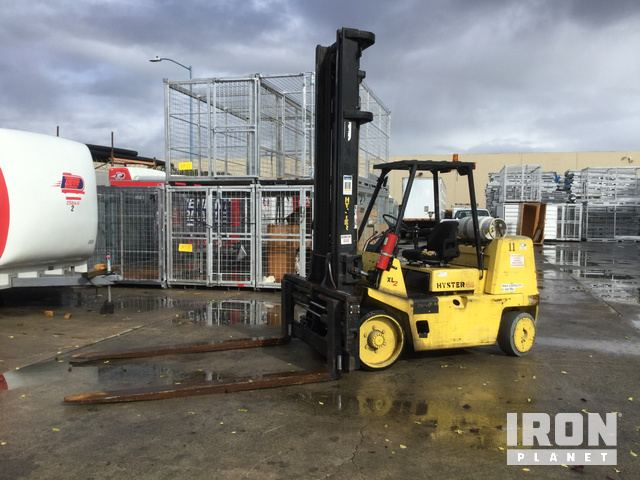 2005 Hyster S155XL2 Cushion Tire Forklift, Forklift