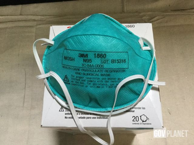 Of surgical N95 Surplus Boxes Respirator 114 Filtering 3m Air