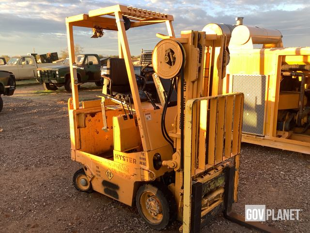 Hyster E25XL-MIL Electric Forklift, Electric Forklift
