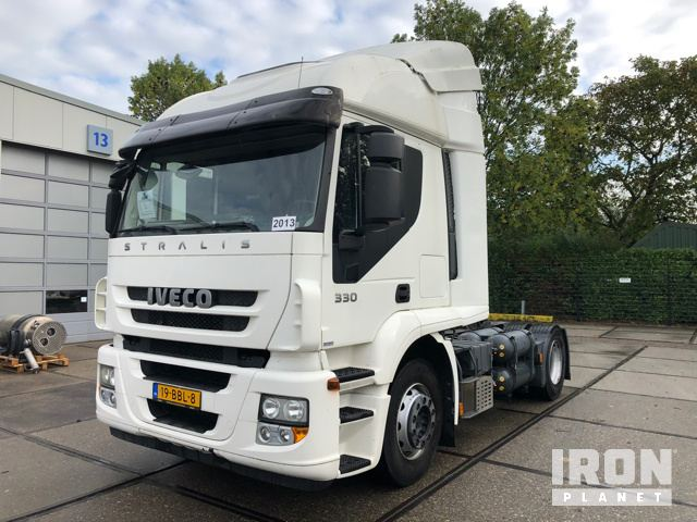 2013 Iveco Stralis AT440S33T/P LNG/CNG 4x2 Sleeper Truck Tractor, Truck Tractor (S/A)