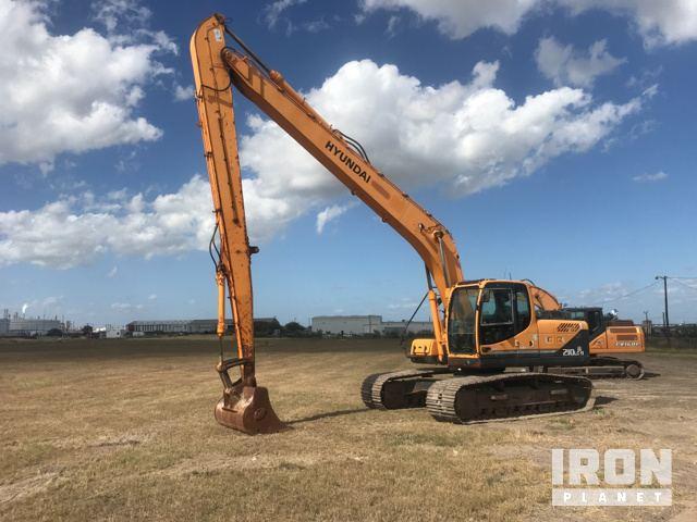 2011 Hyundai Robex 210LC-9 Long Reach Excavator, Hydraulic Excavator