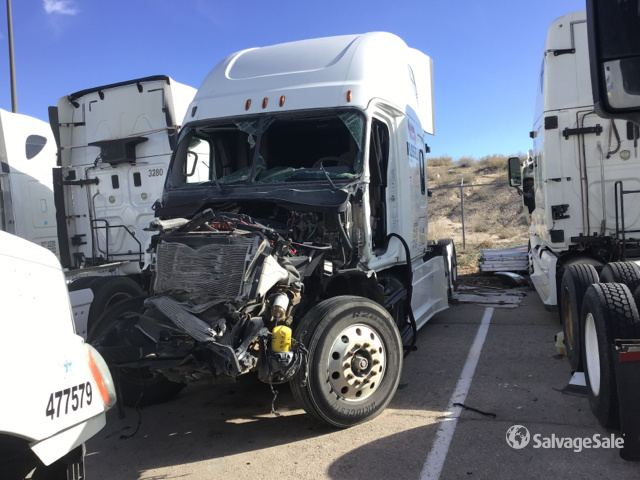 2016 freightliner cascadia 125 t a sleeper truck tractor in el paso texas united states salvagesale item 2839066 salvagesale