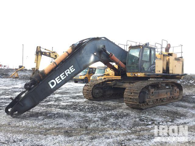 2012 John Deere 870GLC Track Excavator, Hydraulic Excavator