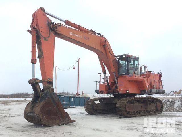 2008 Hitachi EX1200-5D Track Excavator, Hydraulic Excavator