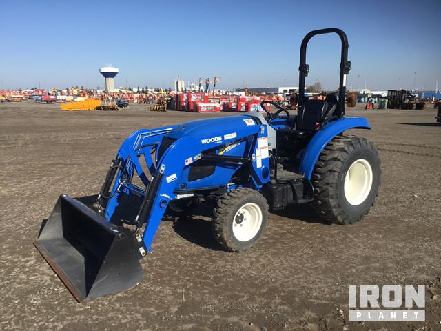 2014 New Holland Boomer 33 Utility Tractor, Utility Tractor