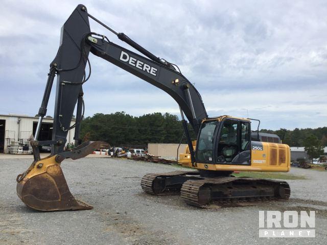 2015 John Deere 250G LC Track Excavator, Hydraulic Excavator
