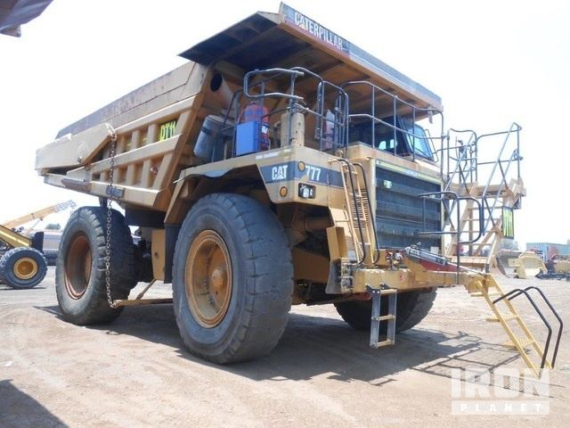 Cat 777B Off-Road End Dump Truck, Rock Truck