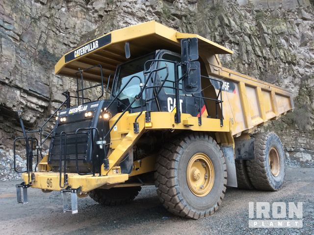 2011 Cat 775F Off-Road End Dump Truck, Rock Truck