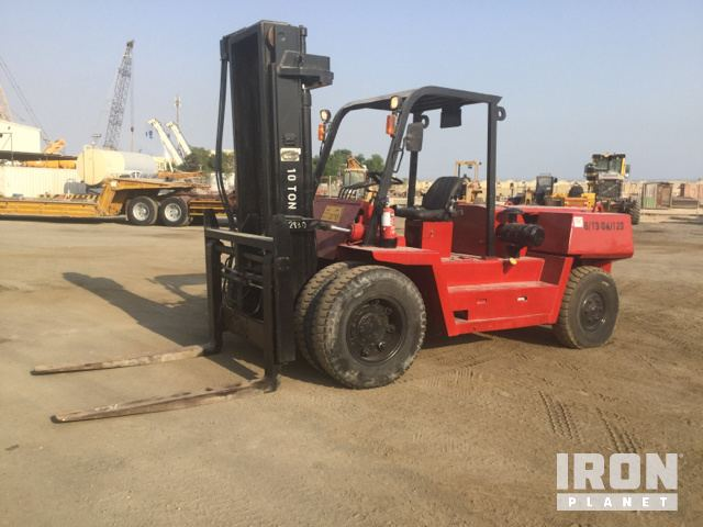 2006 (unverified) Dalian CPCD100 Pneumatic Tire Forklift, Forklift