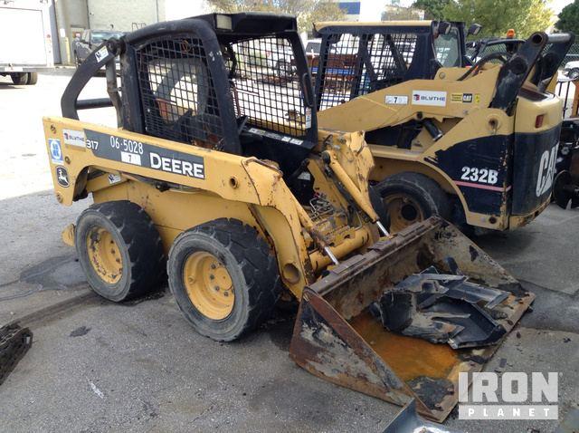 2006 John Deere 317 Skid-Steer Loader, Parts/Stationary Construction-Other