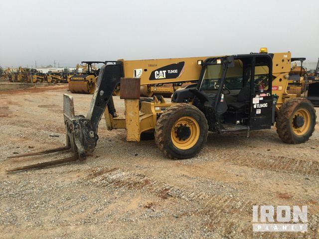 2013 Cat TL943C Telehandler, Telescopic Forklift