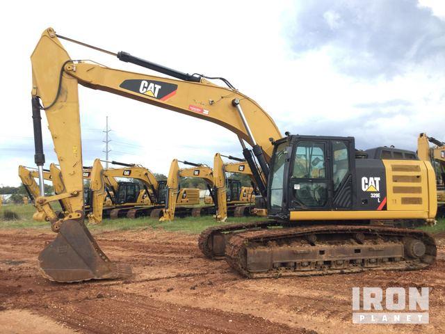 2012 Cat 329E L Track Excavator, Hydraulic Excavator