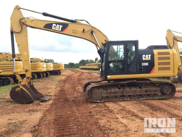 2014 Cat 320E L Track Excavator, Hydraulic Excavator