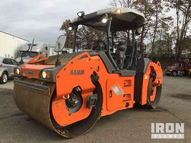 2015 (unverified) Hamm HD+120iVVHV Vibratory Double Drum Roller, Roller