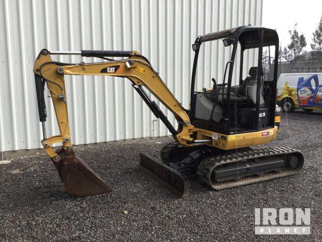 2014 Cat 302.7DCR Mini Excavator, Mini Excavator (1 - 4.9 Tons)