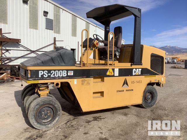 Cat PS-200B Pneumatic Roller, Roller
