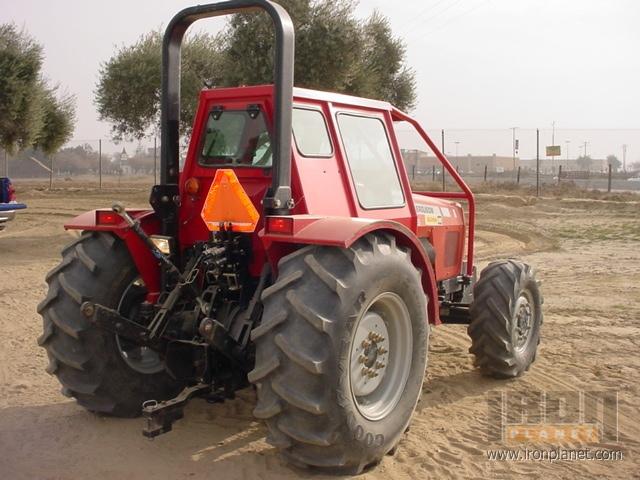 2007 (unverified) Massey Ferguson 596 Farm Tractor in Selma