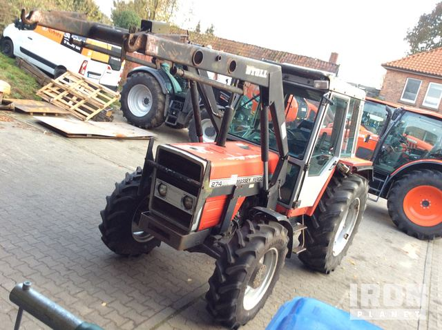 1987 Massey Ferguson 274SK 4WD Tractor, MFWD Tractor