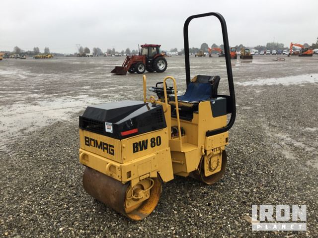 1995 Bomag BW80ADH Vibratory Double Drum Roller, Roller