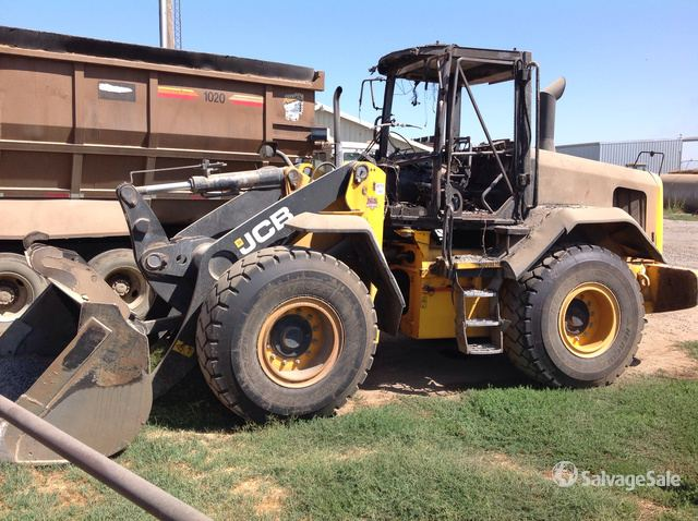 2014 (unverified) JCB 427 Wheel Loader, Parts/Stationary Construction-Other