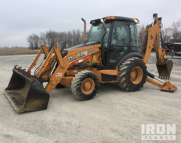 2015 Case 580 Super N WT 4x4 Backhoe Loader, Loader Backhoe